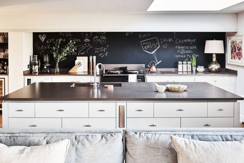 chalk splashback