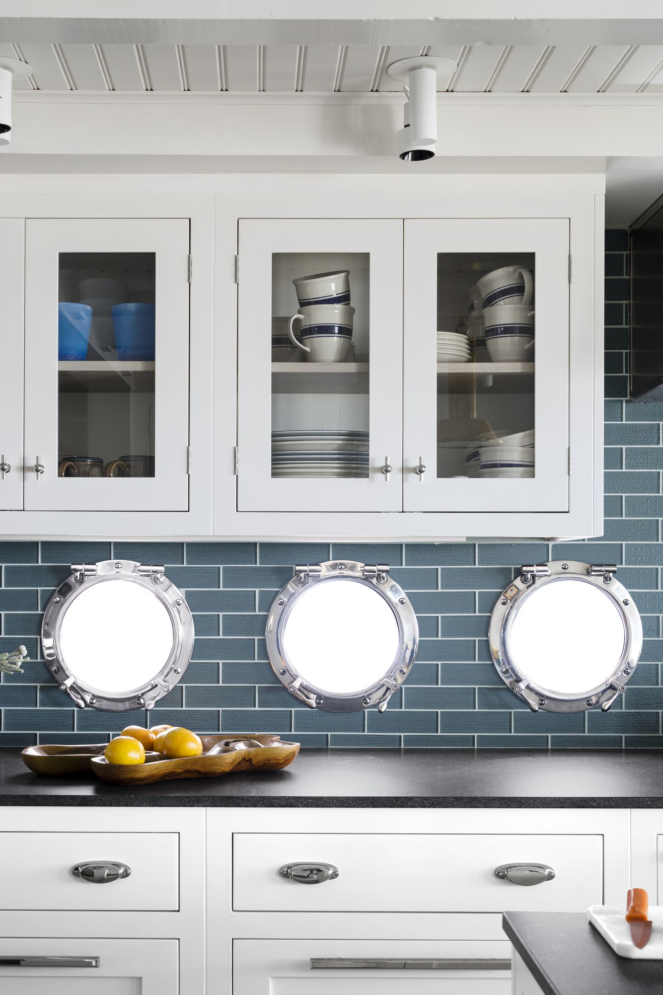Nautical Accent Splashback