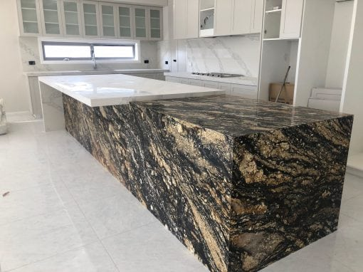 luxury kitchen bench