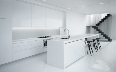 10 Exciting Design Ideas for a Stark White Kitchen!